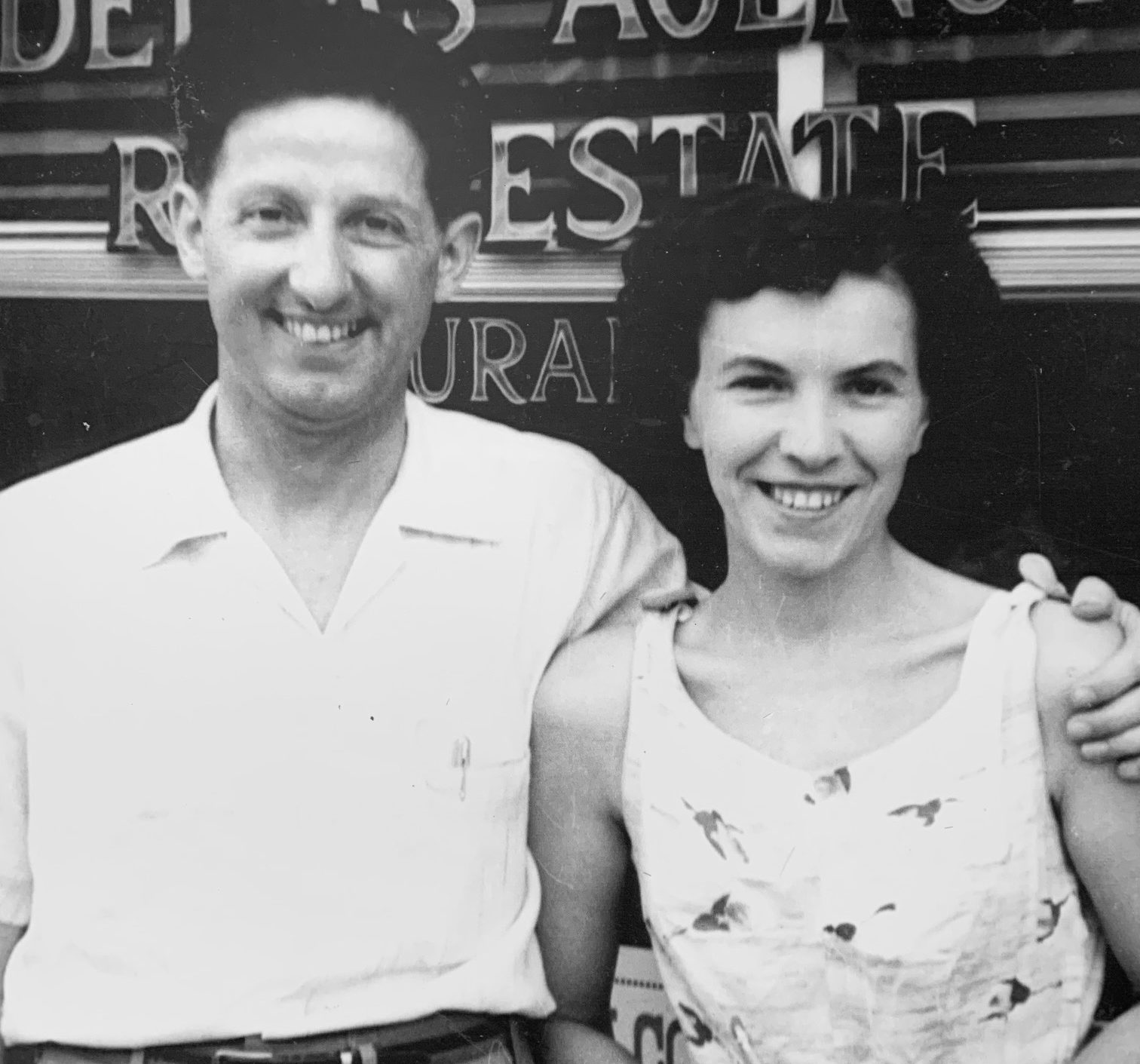 Norman and Margie B&W